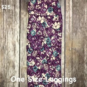 LuLaRoe One Size Leggings New with Tags